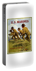 Us Marines - Soldiers Of The Sea Portable Battery Charger