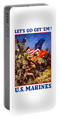 Us Marines - Ww2  Portable Battery Charger