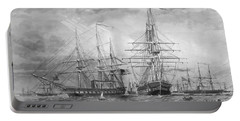 U.s. Naval Fleet During The Civil War Portable Battery Charger