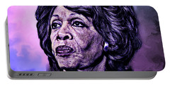 Us Representative Maxine Water Portable Battery Charger