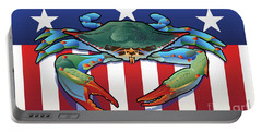 Usa Blue Crab Portable Battery Charger