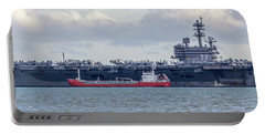 Uss George H.w Bush. Portable Battery Charger