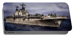 Uss Iwo Jima Lph2 Portable Battery Charger