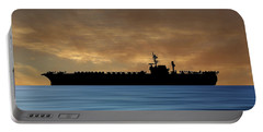 Uss Kitty Hawk 1955 V2 Portable Battery Charger