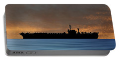 Uss Kitty Hawk 1955 V3 Portable Battery Charger