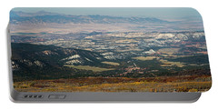 Utah A Patchwork Portable Battery Charger