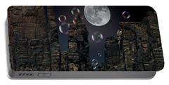 Utah Bubble Moon Portable Battery Charger