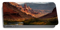Utah Colorado River Spires Portable Battery Charger