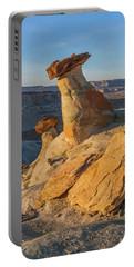 Utah Hoodoos At Sunset Portable Battery Charger