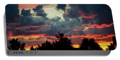 Portable Battery Charger featuring the photograph Utah Sunset by Bryan Carter
