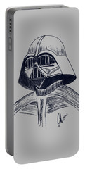 Vader Sketch Portable Battery Charger