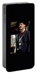 Val Kilmer As Doc Holliday Tombstone Set 1993-2015 Portable Battery Charger