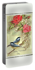Valentine Day Vintage Postcard Portable Battery Charger