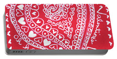 Valentine Heart Portable Battery Charger