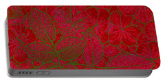 Valentine Red Portable Battery Charger