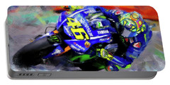 Valentino Rossi - 02 Portable Battery Charger