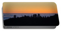 Valley Fog Sunset Portable Battery Charger