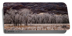 Valley Of Cottonwoods Portable Battery Charger