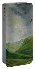 Valley Of Eagles Portable Battery Charger