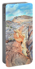 Valley Of Fire Alien Boulder Portable Battery Charger