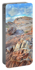 Valley Of Fire Boulders Portable Battery Charger