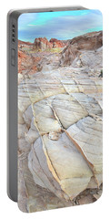 Valley Of Fire Sandstone Portable Battery Charger