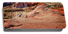 Valley Of Fire State Park Nevada Portable Battery Charger by James Hammond