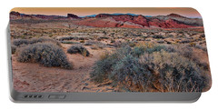 Valley Of Fire Sunset Portable Battery Charger