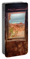 Valley Of Fire Window View Portable Battery Charger