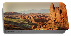 Valley Of Fire Xxiii Portable Battery Charger