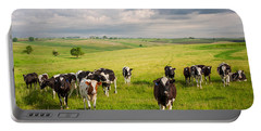 Valley Of The Cows Portable Battery Charger