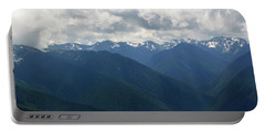 Portable Battery Charger featuring the photograph Valley Of The Olympics by Tikvah's Hope