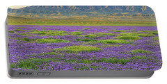 Valley Phacelia And Caliente Range Portable Battery Charger
