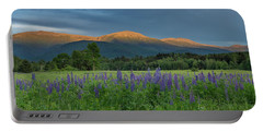Valley Way Lupine Sunset Portable Battery Charger