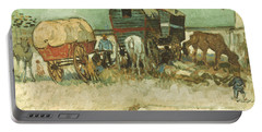 Van Gogh: Gypsies, 1888 Portable Battery Charger