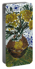 Van Gogh Portable Battery Charger by J R Seymour