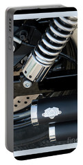 Portable Battery Charger featuring the photograph Vance And Hines by Wendy Wilton
