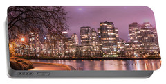 Portable Battery Charger featuring the photograph Vancouver, Canada by Juli Scalzi