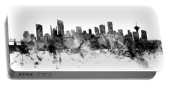 Vancouver Canada Skyline Panoramic Portable Battery Charger