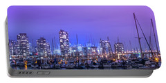Portable Battery Charger featuring the photograph Vancouver by Juli Scalzi