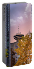 Vancouver Lookout From Gastown Portable Battery Charger