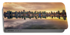 Portable Battery Charger featuring the photograph Vancouver Reflections by Eti Reid