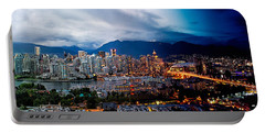 Vancouver Skyline - 4 Hours Portable Battery Charger