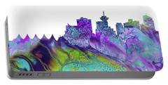 Vancouver Skyline Portable Battery Charger