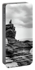 Portable Battery Charger featuring the photograph Vantage Point by Nick Bywater