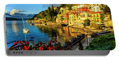 Varenna Italy At Sunset Portable Battery Charger