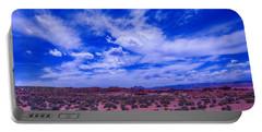 Vast Desert Sky Portable Battery Charger