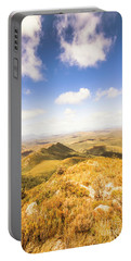 Vast Expanse Of Wonderful Countryside Portable Battery Charger