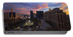Vegas By Night Portable Battery Charger