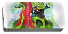 Vegas Frogs Lounge Act Portable Battery Charger